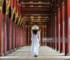 View top-quality stock photos of Woman Walking Along Corridor. Find premium, high-resolution stock photography at Getty Images. Photos Of Women, Hue, Vietnam, Asia, Walking, Stock Photos, Corridor, Woman, Fashion