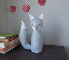 DIY Children's : Adorable DIY Electrified Fox Lamp For A Kid's Room