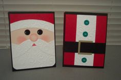 Santa Gift Card Holders by BeckiF - Cards and Paper Crafts at Splitcoaststampers