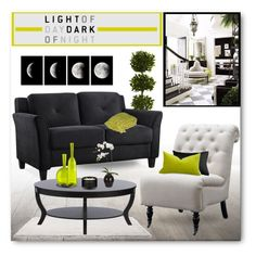"""""""Light of Day, Dark of Night"""" by brendariley-1 ❤ liked on Polyvore featuring interior, interiors, interior design, home, home decor, interior decorating, Nearly Natural, Universal Lighting and Decor, LifeStyle Solutions and I Love Living"""