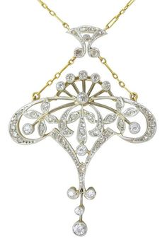 Richy-Glory Necklaces /& Pendants Platinum Plated Micro Inlay