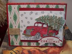 Bobbiestamps.com: Team Stamp It Blog Hop; Stampin Up; Country Christmas;