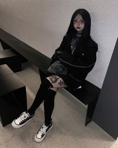 Swag Girl Style, Girl Swag, Cyberpunk Clothes, Face Tattoos, Girl Fashion, Fashion Outfits, Emo Girls, Future Fashion, Character Aesthetic