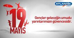19 Mayıs Gençlik ve Spor Bayramı'mız kutlu olsun.