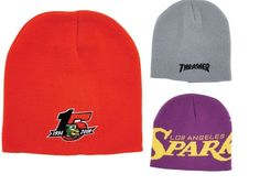 We can custom weave beanies or scarfs for your organization, team or school.