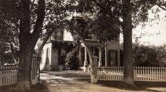 The Conant family home, c. 1902