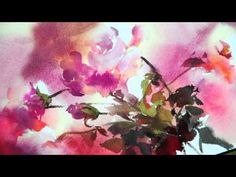 Watercolor-Rhythm of flowers no.1 by Phatcharaphan Chanthep - YouTube