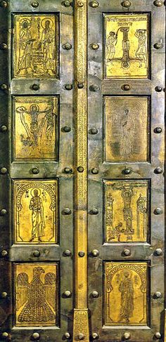 Constantine The Great, Ottoman Turks, Old Wooden Doors, Ephesus, Byzantine Art, Hagia Sophia, Roman Emperor, Middle Ages, Christianity