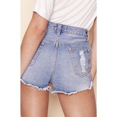 That perfect moment when you chuck on a pair of denim shorts and realise they make your butt like wow #srsly. Shop via our bio link