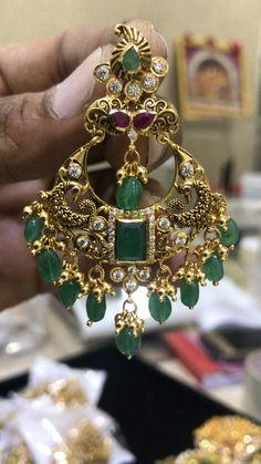 Michael Kors Women's Heritage Whisper Hoop Earrings Rose Gold – Fine Jewelry & Collectibles Gold Jhumka Earrings, Gold Earrings Designs, Gold Jewellery Design, Tourmaline Earrings, Indian Earrings, Hoop Earrings, Jewelry Model, Ear Jewelry, Jewelry Making