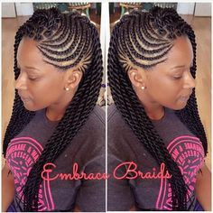 "304 Likes, 9 Comments - Master Braider Embra bka Em (@embracebraids) on Instagram: ""FBF"""