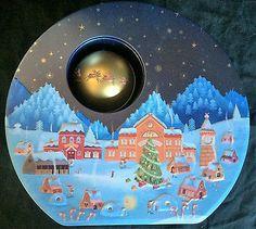 #Marks and spencer #night before christmas tin ~ christmas eve tin…
