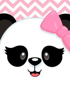 Panda Wallpaper Iphone, Cute Panda Wallpaper, Panda Wallpapers, Cartoon Wallpaper, Niedlicher Panda, Panda Bebe, Panda Art, Pink Panda, Cute Animal Drawings