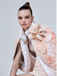 l'âge de glace: marthe wiggers by osma harvilahti for l'officiel paris october 2015 | visual optimism; fashion editorials, shows, campaigns & more!