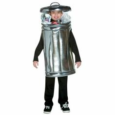 garbage man kids costumes for sale | Results In: Halloween Costumes Trash Can Child Costume