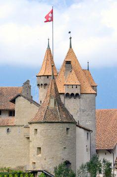 Aigle Castle, Switzerland  #castle #switzerland #aiglecastle #europe #travel #wanderlust #rebekaheliztravels