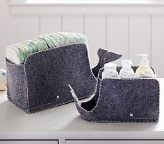 Organize your nursery with Pottery Barn Kids' baby organizers. Shop nursery storage and organization for finding the right spot for all your things. Sea Nursery, Whale Nursery, Baby Whale, Baby Nursery Themes, Nursery Room, Coastal Nursery, Ocean Themed Nursery, Nautical Nursery Decor, Bedroom
