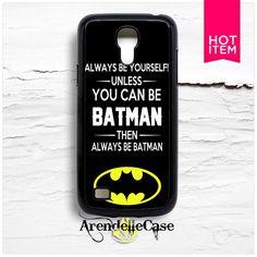 Batman Quotes Samsung S4 Mini Case