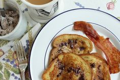 French Toast with Chocolate Butter