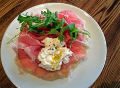 The Factory Kitchen  Aged prosciutto and stracciatella cheese top a lightly fried sage dough at the Factory Kitchen in the arts district.  http://www.latimes.com/food/la-fo-0517-critics-choice-20140517-story.html#page=1&lightbox=80224099