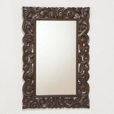 Tegan Carved Mirror