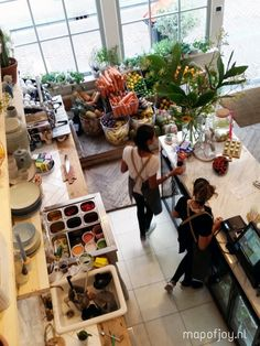 Pluk restaurant/store, Amsterdam - Map of Joy