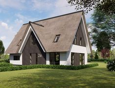 Moderne schuurwoning Veenendaal | The Citadel Company Shed, Villa, Outdoor Structures, Cabin, House Styles, Home Decor, Decoration Home, Room Decor, Cabins