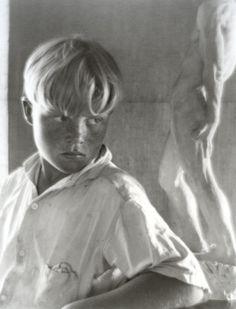 Brett Weston photographié par Imogen Cunningham, 1922