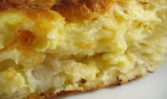 Cheese and Onion Pie - when you're in the mood for British food Cheese And Onion Pie, Cheese Pies, Savoury Baking, Savoury Cake, Pureed Food Recipes, Greek Recipes, Pastry Recipes, Cooking Recipes, Cookie Dough Pie