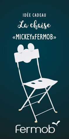 La Clbre Chaise Bistro Se Dguise En Mickey Mouse A Loccasion Des 90 Ans De Plus Souris Fermob Crateur Mobilier Jardins Heureux Et