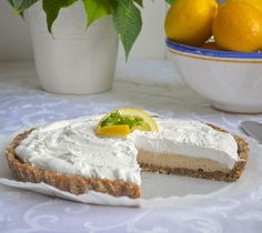 Vegan Coconut Lemon Pie