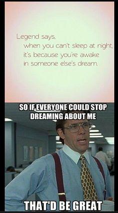 Just let me sleep