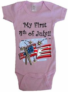 wow, this is a great  MY FIRST 4TH OF JULY! - BigBoyMusic Baby Designs - Pink Onesie / Baby T-shirt - size Newborn (0-6M) / http://www.holidaygoodness.com/my-first-4th-of-july-bigboymusic-baby-designs-pink-onesie-baby-t-shirt-size-newborn-0-6m/