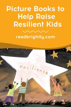 From inspirational true stories to characters exhibiting determination and grit, the books listed below are an excellent way to encourage children to become resilient. Reading Lists, Book Lists, Little Engine That Could, Hard Work And Dedication, Children's Picture Books, World Records, Age 3, Father And Son, Great Books