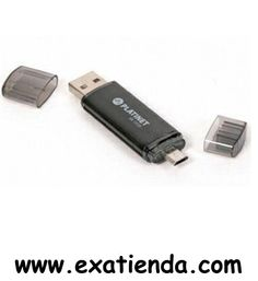 Ya disponible Memoria USB 2.0 platinet 32gb micro USB y USB   (por sólo 32.95 € IVA incluído):   - USB Pen Drive Platinet Rapido, duradero y fiable - Con la novedad de lectura pormicro-USB, funciona perfectamente con tablets bajo sistema operativo Android, Windows 8 y equipados con puerto de entrada micro-USB. - Chasis de Aluminio provee la maxima durabilidad y seguridad para sus datos. - Deteccion automatica sin necesidad de instalacion de drivers adicionales. - Consumo