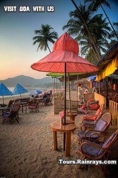 Tourist Attraction India: Palolem Beach Goa Attraction