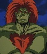 As much as he wants to be human again, Blanka remains to be a heroic man-beast with his rolling attack. Description from whatvinniethinks.com. I searched for this on bing.com/images
