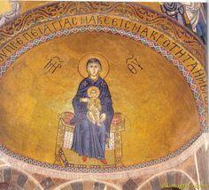 ● Мозаика в апсиде церкви Св. Луки монастыря Осиос Лукас. Вт. пол. 10 в.: 10 тыс изображений найдено в Яндекс.Картинках