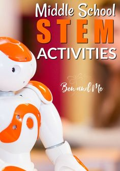 STEM stands for Science, Technology, Engineering, and Math and it's really useful to include this in your student's curriculum. Here are some STEM activities for middle school. homeschool STEM science math via 45458277473353092 Middle School Boys, Middle School Libraries, Middle School Teachers, Middle School Science, Middle School Activities, Middle School Crafts, Stem High School, Science Activities, Educational Activities