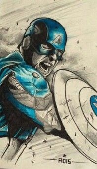 Captain America - << this is really good fan art!