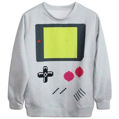 Gray Womens Long Sleeves Cute 3D Calculator Printed Jumper Sweatshirt ($20) ❤ liked on Polyvore featuring tops, hoodies, sweatshirts, grey, gray sweatshirt, grey top, long sleeve sweatshirt, grey long sleeve top and long sleeve tops
