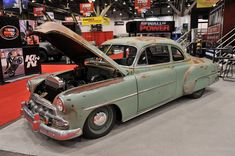 Icon Derelict 1952 Chevrolet Business Coupe looks even cooler in the flesh Electric Truck, Chevrolet Bel Air, Chevrolet Caprice, Old School Cars, Mercedes Benz Cars, Dream Garage, General Motors, In The Flesh, Car Car