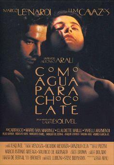 Como agua para chocolate cuenta la historia de dos jóvenes mexicanos que tienen que luchar contra todo para mantener viva su historia de amor. Podemos disfrutar de la gastronomía mexicna, muy presente en toda la película. #chocolate #mexico #película #gastronomía