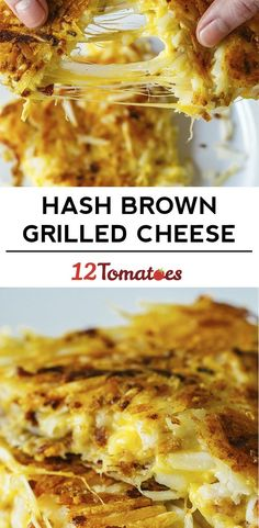 Hash Brown Grilled Cheese