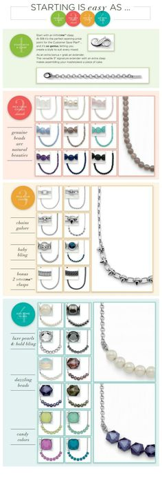 How to Build Your Own Necklace #liasophia #diy