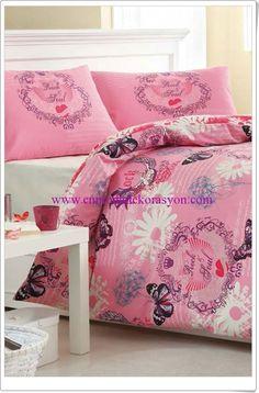 Sarev Ranforce Çift Kişilik Nevresim Takımı Comforters, Blanket, Bed, Creature Comforts, Quilts, Stream Bed, Rug, Blankets, Beds
