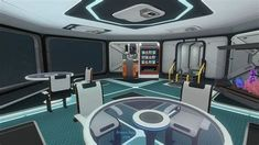 Subnautica Base, Research Lab, Gym Equipment, Tomorrow Land, Image, Transformers, Awesome, Google, Ideas