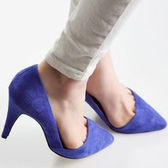 $51.31 Korea purchasing shoes authentic 2013 spring new N9 Europe Fan pointed Asakuchi high heels single shoes blue