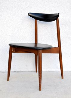 """1960s Hans Wegner """"The Chair"""" Style Accent Desk Side Chair by Kodawood Mid-Century Danish Modern Vintage"""