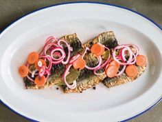 Chef Magnus Nilsson's traditional Scandinavian recipe for fried herring in a pickling liquor, typically served on boiled potatoes or rye toast.